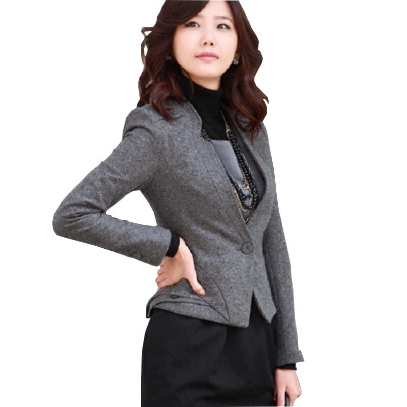 1e872db94365 Formal Blaser Feminino Red Blazer Women Jackets Work Wear Clothes Fashion  Ladies Professional Office Uniform Styles