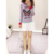 Customized ODM Knitwear Ladies Girls Butterfly Patchwork Knit Sweater Pullover