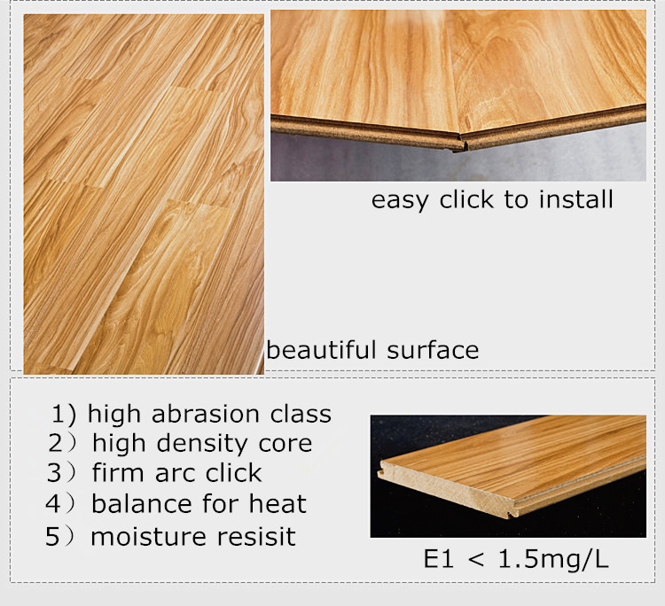 Project Source Oak Smooth Laminate Flooring
