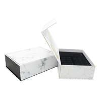 White matt laminate silver hot foilcustom packaging cardboard cosmetic gift box
