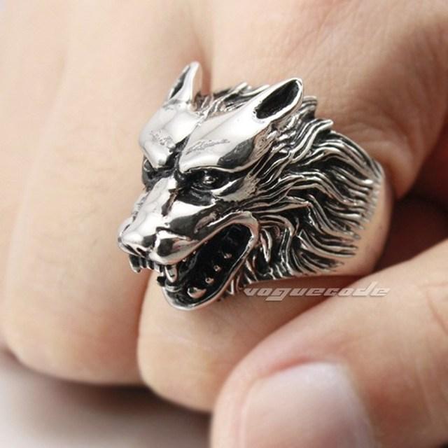 Aliexpress Com Buy Werewolf Grinning 316l Stainless
