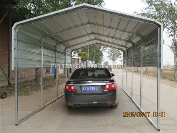 Metal Car Canopies : Metal carport steel car shed canopy design buy