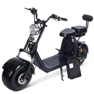 Newest City Gogo EHO Adult Electric Seev Scooter Mobility 2 Seat 60V 20Ah 2000W With Pedals Spain EU Europe Warehouse