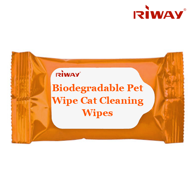 Biodegradable Pet Wipe Cat Cleaning Wipes