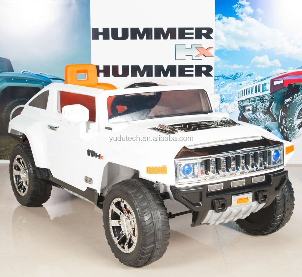 Hummer Hx Kids Ride On Truck/car 14v Powered Wheels With Rc Remote Control  - White - Buy Newest Ride On Car,Remote Control,Baby Electric Car Product  ...   12v hummer