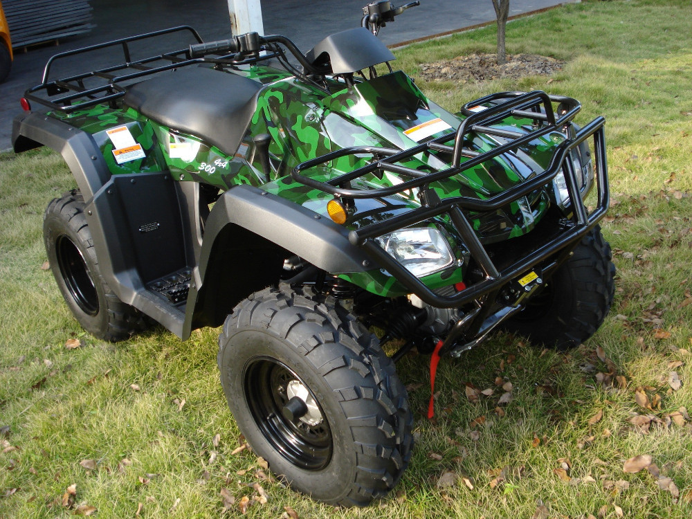 Quad Bike with CVT 300cc 4x4