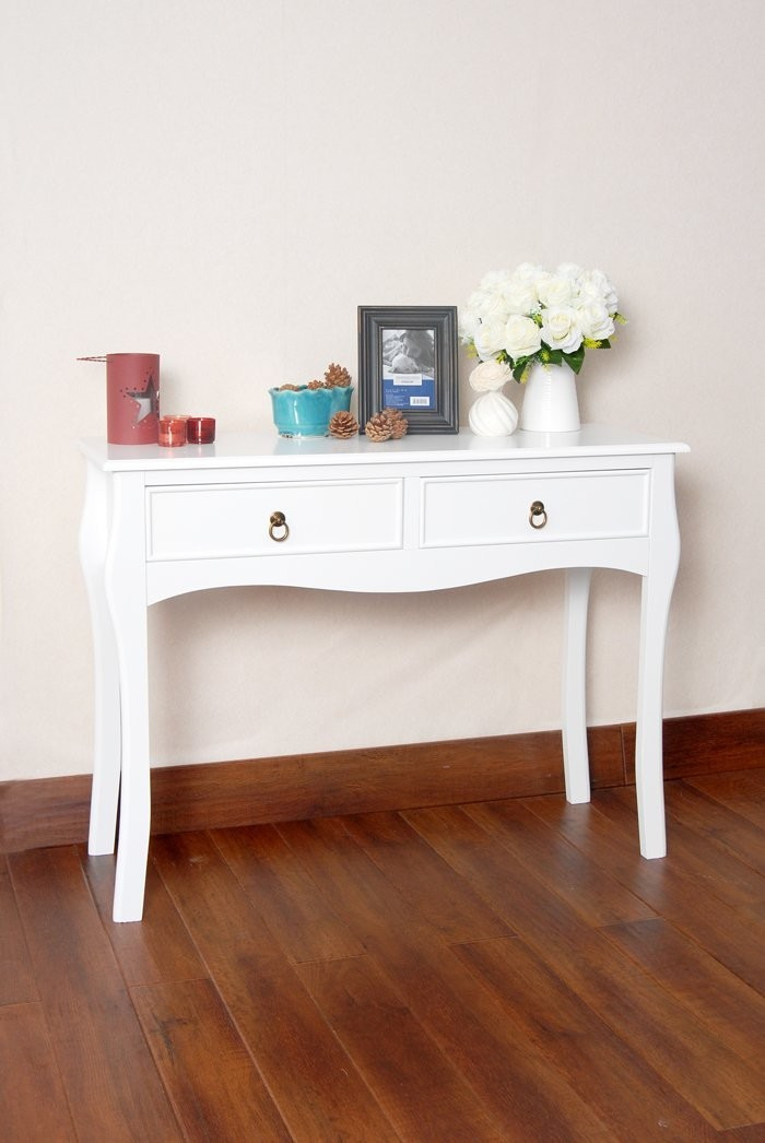 Awesome White Finish Curved Legs Accent Console Sofa Table With Two Drawer Buy Accent Table Console Tables With Storage Wood Curved Console Table Product On Spiritservingveterans Wood Chair Design Ideas Spiritservingveteransorg