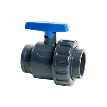 Single True Union PVC-U PVC Threaded Ball Valve