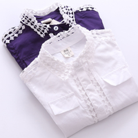 MS70229B Korea style girls simple shirts dress fashion design small girls dress