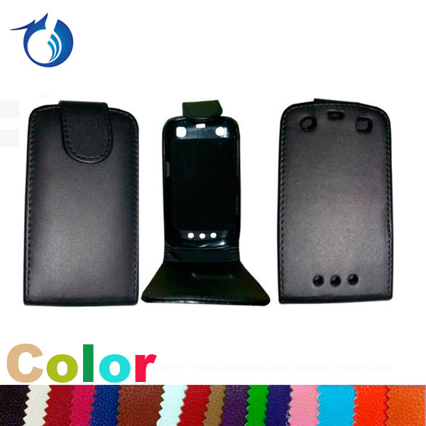 Magnet Closure PU Leather Flip Case for BlackBerry Apollo 9360