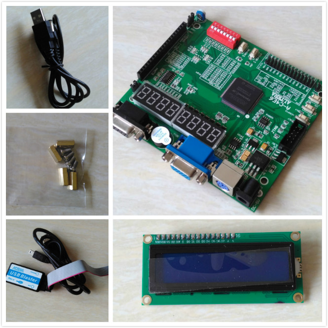 Free shipping ALTERA FPGA EP2C5T144C8N fpga board +USB