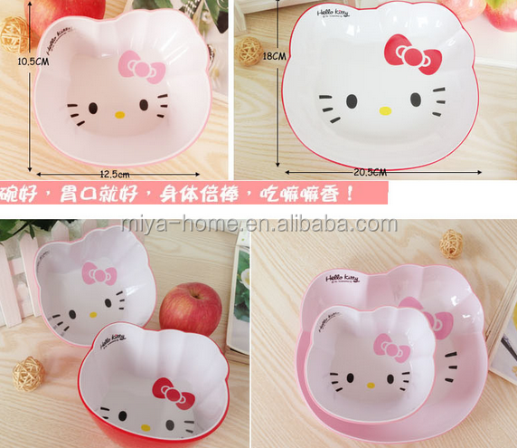 Fashion Apple fruit shape salad bowl for children / melamine salad bowl