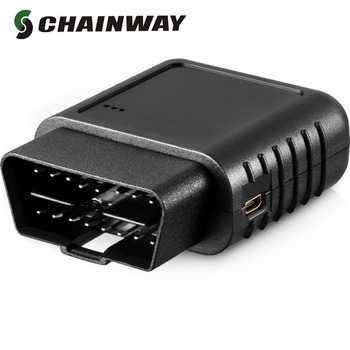 Fleet management obd 2 wireless gps car tracker, vehicle telematics service with cloud platform