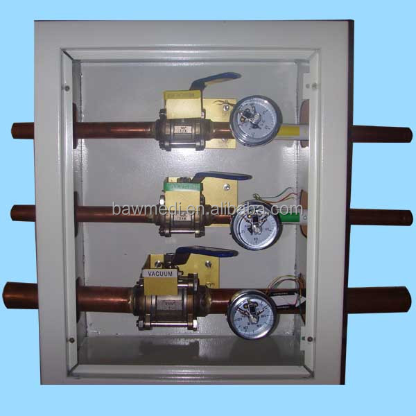 China Supplier Medical Gas Valve Box Used In Hospital Safety
