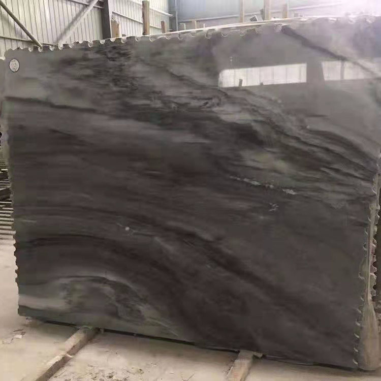 Sichuan Natural Black Marble For Wall Cladding and Floor Paving