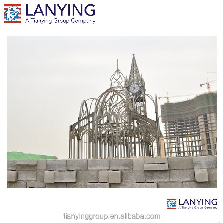 China Manufacture Prefabricated Steel Structure Prefab Church Buildings