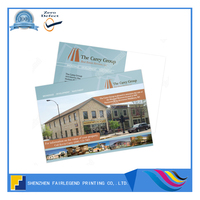 China Offset Postcard Printer Commercial Real Estate Postcard Printing Service