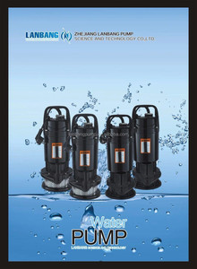 German Submersible Pump Manufacture Qdx Series 1HP Submersible Pump