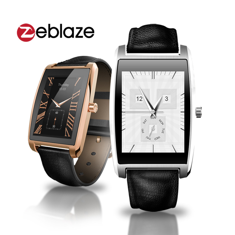 2016 New Zeblaze COSMO 1.61 inch IPS IP65 Bluetooth 4.0 Smart Watch Heart Rate Monitor Vogue