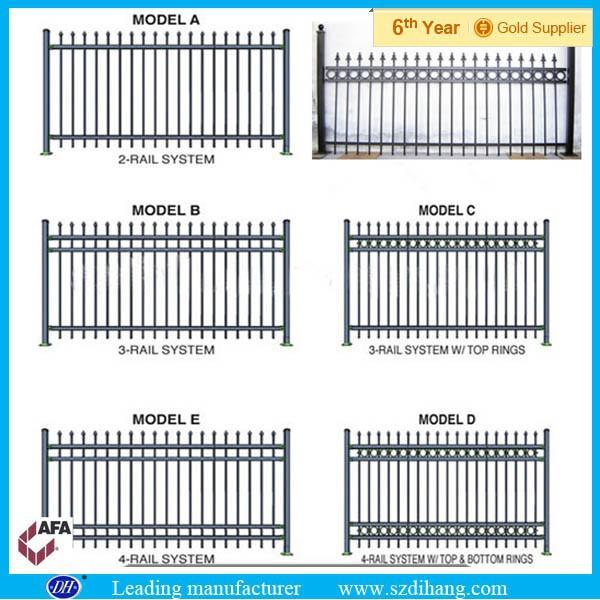 Heavy Duty Steel Fence Panels Prefab Fence Panels Steel