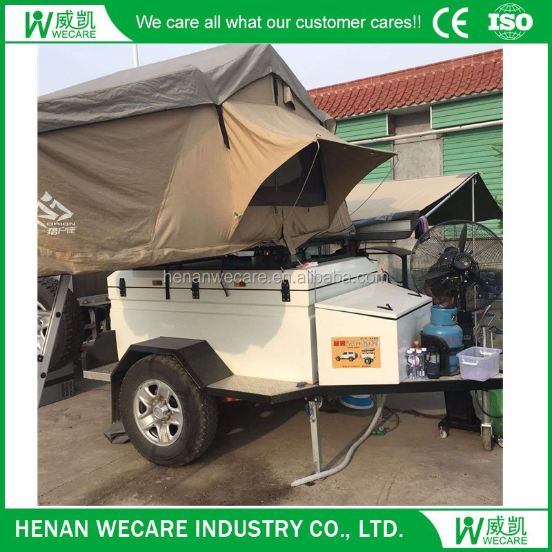 Manufacture customized modern design camping tent for trailer