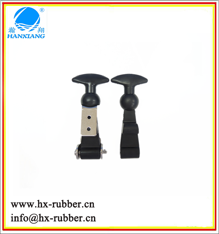 Chinese Wholesales Passivated Finish Stainless Steel Rubber T Handles Latch