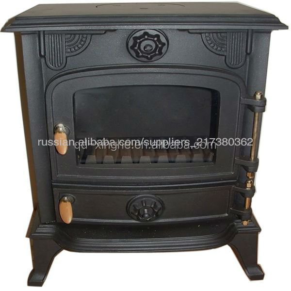 2016popular style Antique cast iron stove wood burning stove