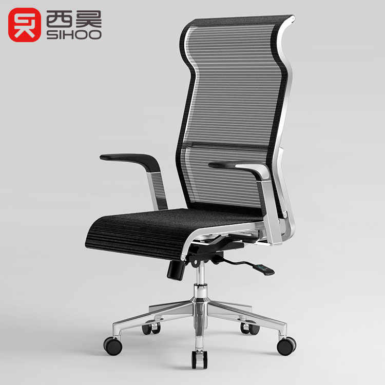SIHOO vente Chaude double S conception maillage complet ergonomique vis ascenseur chaise de bureau