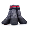 2016 Lanle terry socks waterproof dog boots for winter
