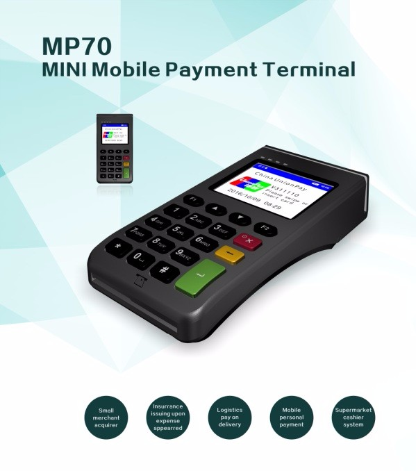 POS System POS Solution MP70 Mini Payment Device With NFC Card Reader POS Terminal