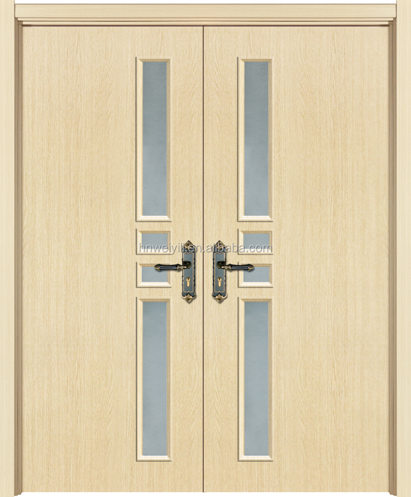 2017 Discount Solid Core Wood Door China Product American Style