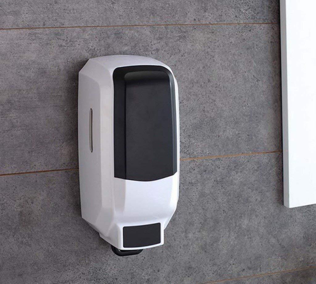 LE Large-capacity manual single-head soap dispenser Hand soap to soap dispenser Liquid soap bottle Liquid soap box Single head