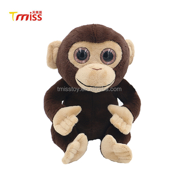 Stuffed Animal Monkey Plush Toy Big Eyes Monkey Plush Toy Supplier