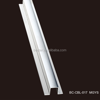 Polished Ceramic Tiles Expansion Joint Aluminum Metal Tile Edge Trim