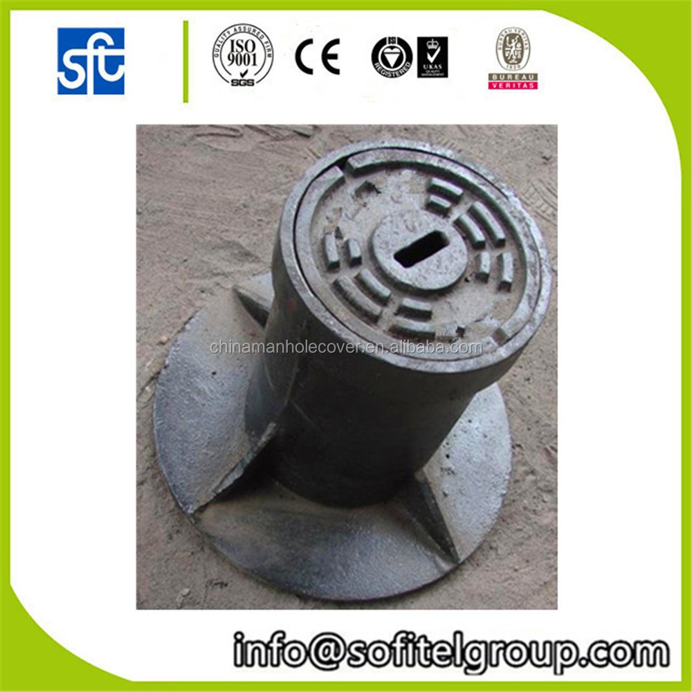 Factory Casting iron water box in cast and forged, surface box cover