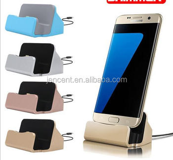 Universal Phone Stand Micro Holder Docking Station New Charger Sync For Android Samsung