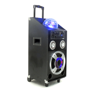 Outdoor Used Power Night Dancing LED DJ Laser Light Speaker For Party