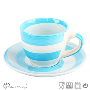 Different Mini Types of Printed Porcelain Tea Cups and Saucers From happygo