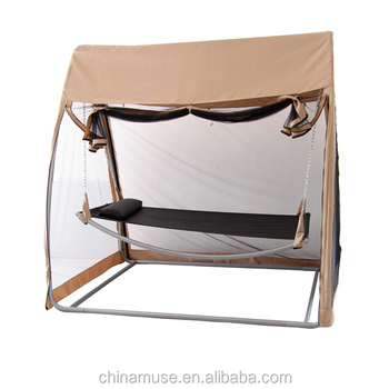 Muse Patio Swing With Hanging Mosquito Net For Adult Buy Patio