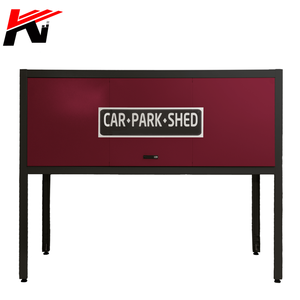 Car park lockable metal cabinet safety secure sundries tools storage box