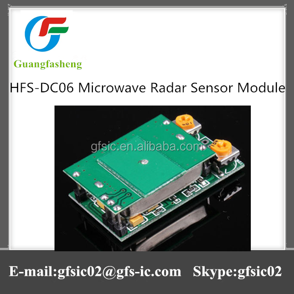 High quality new version HFS-DC06 Microwave Radar Sensor Module
