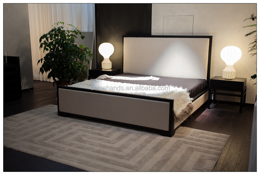Ma2202c Moderno Estilo Simple De Madera Cama Doble Marco - Buy Doble ...
