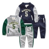 Online Wholesale Winter Child Clothing Kids Reflective Garments Set For Children
