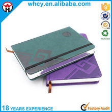 Hot-sale Custom design PU Leather cover Notebook Printing