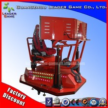 Guangzhou Leader Game LG-RC Red metal 3dof Best quality Newest Design Racing Seat Simulator cockpit