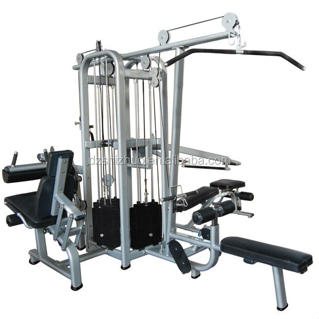 Gym Equipment Upholstery: 4-jungle Machine/multi Gym Equipment/names Of Exercise