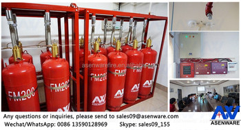 Decorative Fire Extinguisher temperature controlled clean agent fire extinguisher fm200 - buy