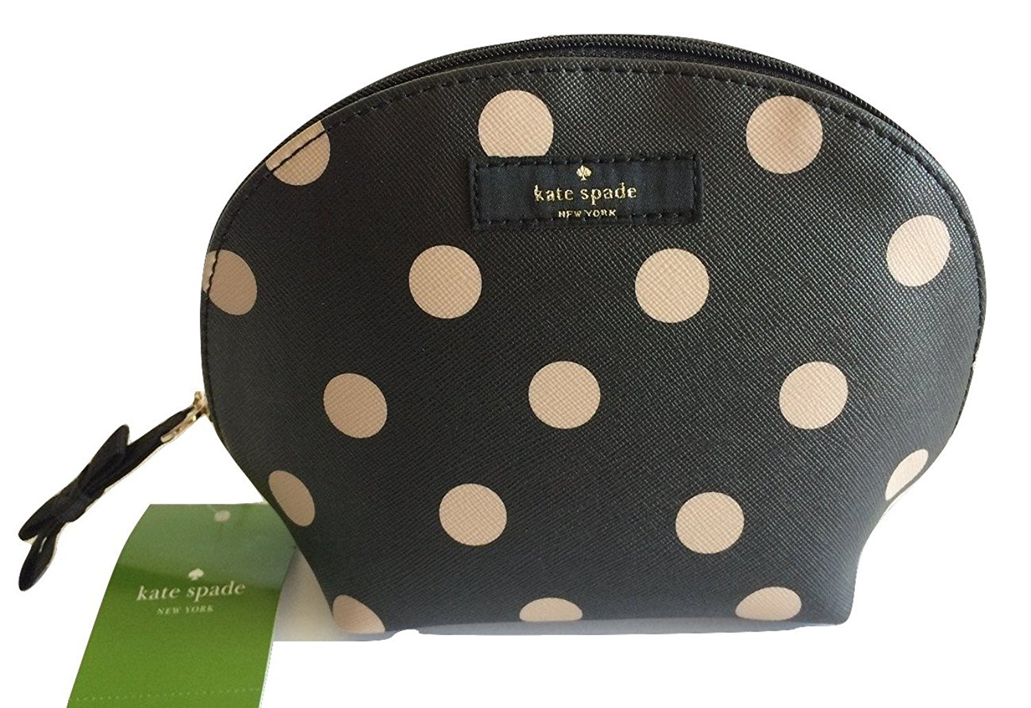 195a318794aa Get Quotations · Kate Spade Keri Brightwater Drive Cosmetic Bag  Black Dcobge WLRU2244