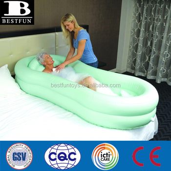 High Quality Inflatable Bed Bath Folding Plastic Inflatable Air ...