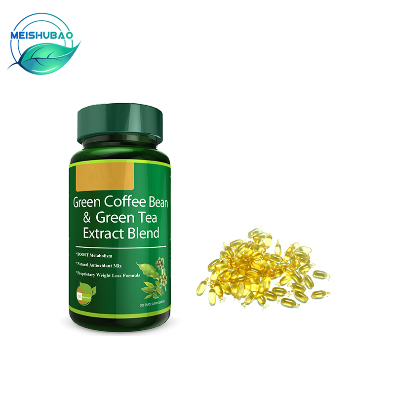 Wholesale Green Coffee Bean Extract Weight Loss Capsules Botanical